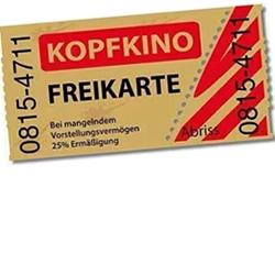 Radiowerbung: Ihre Freikarte fürs Kopfkino.